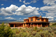 Sprawling house in Colorado Stock Image
