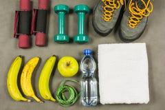 Sprawność fizyczna, ćwiczenie sprawność fizyczna lub zdrowie na dobre i Obrazy Royalty Free