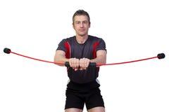 sprawność fizyczna flexibar Zdjęcia Stock
