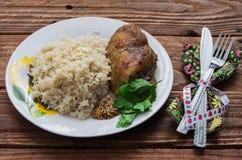 Sprawność fizyczna lunch Zdjęcie Royalty Free