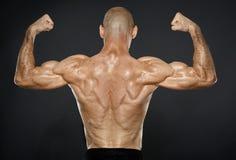 Sprawność fizyczna męski model Zdjęcie Royalty Free