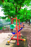 Sprawność fizyczna park Zdjęcie Royalty Free