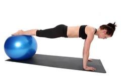 Sprawność fizyczna - Pilates Fotografia Royalty Free