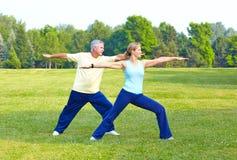 sprawność fizyczna seniory zdjęcie stock