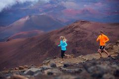 Sprawność fizyczna sporta pary bieg jogging obraz stock