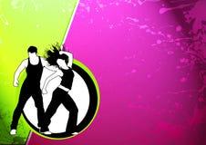 Sprawność fizyczna taniec Obrazy Stock