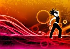 Sprawność fizyczna taniec Obraz Royalty Free