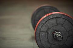 Sprawność fizyczna z weightlifting Fotografia Stock