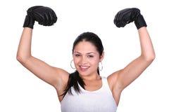 sprawności fizycznej żeńska władza Zdjęcie Stock