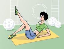 sprawności fizycznej dziewczyna Zdjęcie Stock