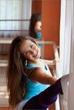 Sprawności fizycznej dziewczyna Fotografia Stock
