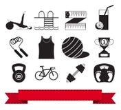 Sprawności fizycznej ikona 3 ilustracji