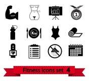 Sprawności fizycznej ikona 4 ilustracji