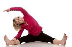Sprawności fizycznej kobieta Fotografia Stock
