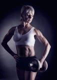 Sprawności fizycznej kobieta Zdjęcia Royalty Free