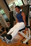Sprawności fizycznej Mężczyzna Nogi Rozszerzenie Zdjęcie Royalty Free