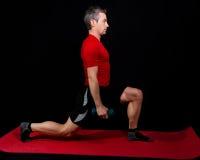 sprawności fizycznej szkolenie Obraz Royalty Free