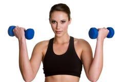 sprawności fizycznej zdrowa kobieta fotografia stock