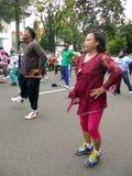 Sprawności fizycznych ćwiczenia Zdjęcie Royalty Free