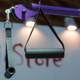 Sprawności fizycznych patki: Trakci i zawieszenia Stażowy wyposażenie Fotografia Stock