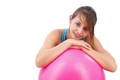 sprawności fizycznej balowa dziewczyna Obraz Royalty Free