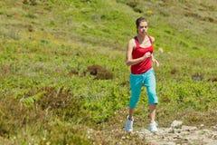 sprawności fizycznej dziewczyny gór target630_1_ Zdjęcie Stock