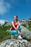 sprawności fizycznej dziewczyny target4191_0_ Fotografia Royalty Free