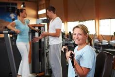 sprawności fizycznej gym szkolenie Fotografia Royalty Free