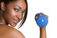 sprawności fizycznej kobieta Zdjęcie Royalty Free