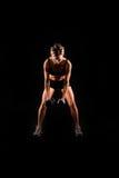 sprawności fizycznej kobieta obraz royalty free