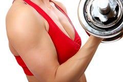 sprawności fizycznej kobieta zdjęcia stock