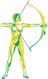 sprawności fizycznej sporta joga Fotografia Stock