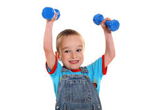 Sprawności fizycznej chłopiec Zdjęcia Royalty Free