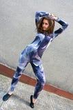 sprawności fizycznej dziewczyna Fotografia Royalty Free