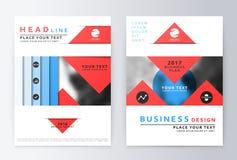 Sprawozdanie roczne broszurka Zdjęcia Stock