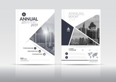 Sprawozdanie roczne broszurki ulotki projekta okładkowy szablon ilustracji