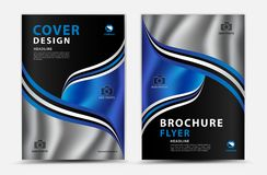 Sprawozdanie roczne pokrywy projekta wektorowy projekt, broszurki ulotka, mgazine reklama, reklama, książkowej pokrywy układ, pla ilustracja wektor