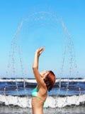 Spray Royalty Free Stock Image