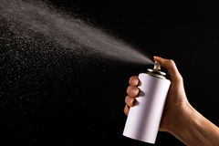 Spray Royalty Free Stock Photo