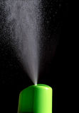 Spray air freshener on a black background Royalty Free Stock Image