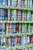 Spray air freshener in supermarket Stock Photos
