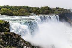 Spray at American Falls Stock Images