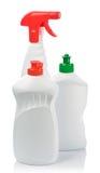 Spray And Bottles Stock Photos