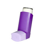 Spray for asthma Royalty Free Stock Images