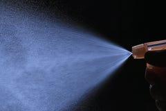 Spray from the atomizer spray Stock Photos