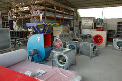 Spray booths factory in China Stock Photography