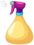 Spray bottle stock illustration