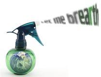 Spray bottle Royalty Free Stock Photography