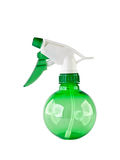 Spray bottle. With blank label, on white background Stock Photo