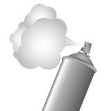 Spray bottle Stock Photography